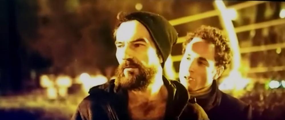 El encuentro de Demian y Rober, Javier Peña, Actor y David López.