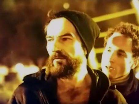 """Javier Peña, Actor en el rodaje de la secuencia de cierre del largometraje """"Ego-Sum""""."""