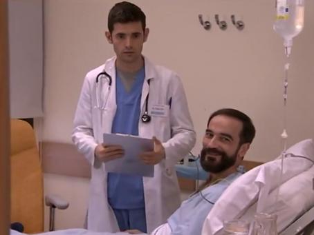 """Javier Peña, Actor vuelve a """"Centro Médico""""."""