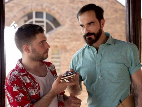 """Javier Peña, Actor participa de nuevo en el último trabajo de Eitán Sándom, """"Una bala con mi no"""