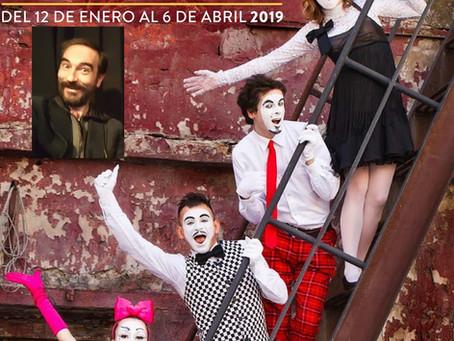 Javier Peña, Actor presenta una vez más el XV Certamen de Teatro Abierto de Hortaleza