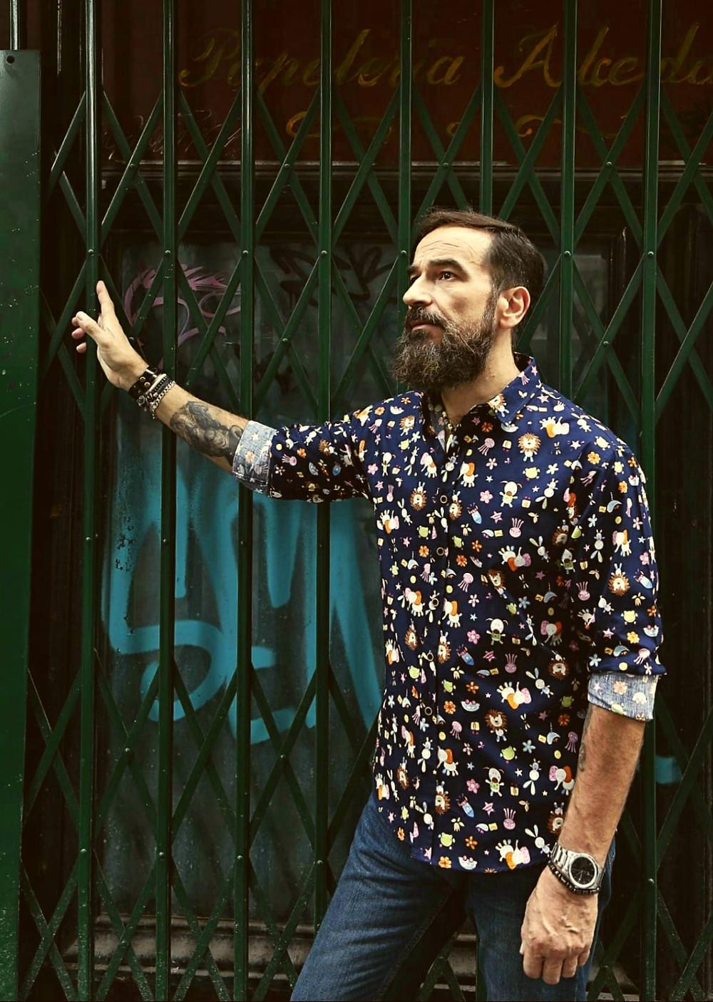 Javier Peña Actor como modelo para Mumy Room