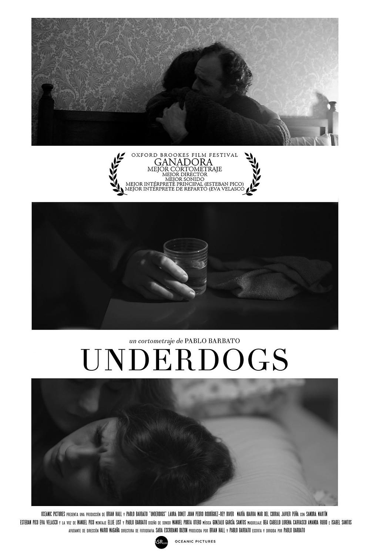 "Cartel promocional de ""Underdogs"""