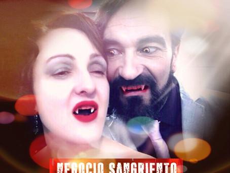 """""""Negocio Sangriento"""", el nuevo cortometraje de Javier Peña, Actor."""