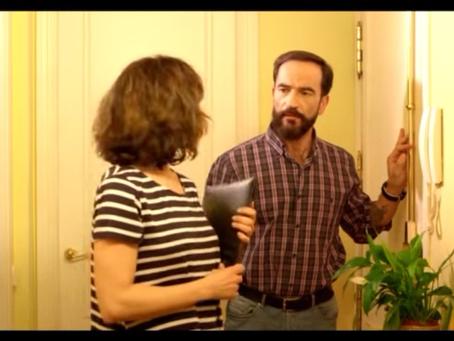 """Javier Peña, Actor protagonista de """"No me dejes"""", cortometraje de Marina Díaz-Caneja con s"""