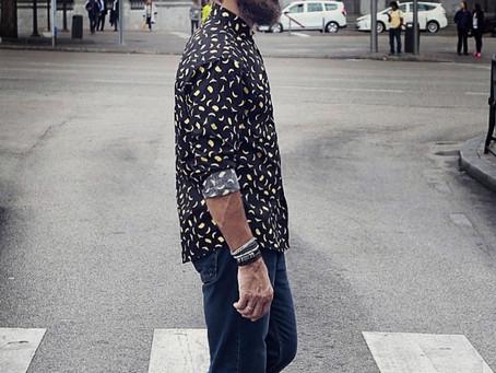 Javier Peña, Actor de nuevo como modelo fotográfico con el fotógrafo Ángel Márquez para la firma Mum