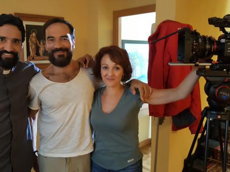 El actor Javier Peña graba un video promocional en apoyo a las Misiones con la productora 2.59, diri