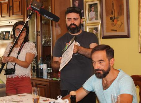 """Javier Peña, Actor como protagonista del cortometraje """"EnlaCe"""", una disparatada comedia di"""
