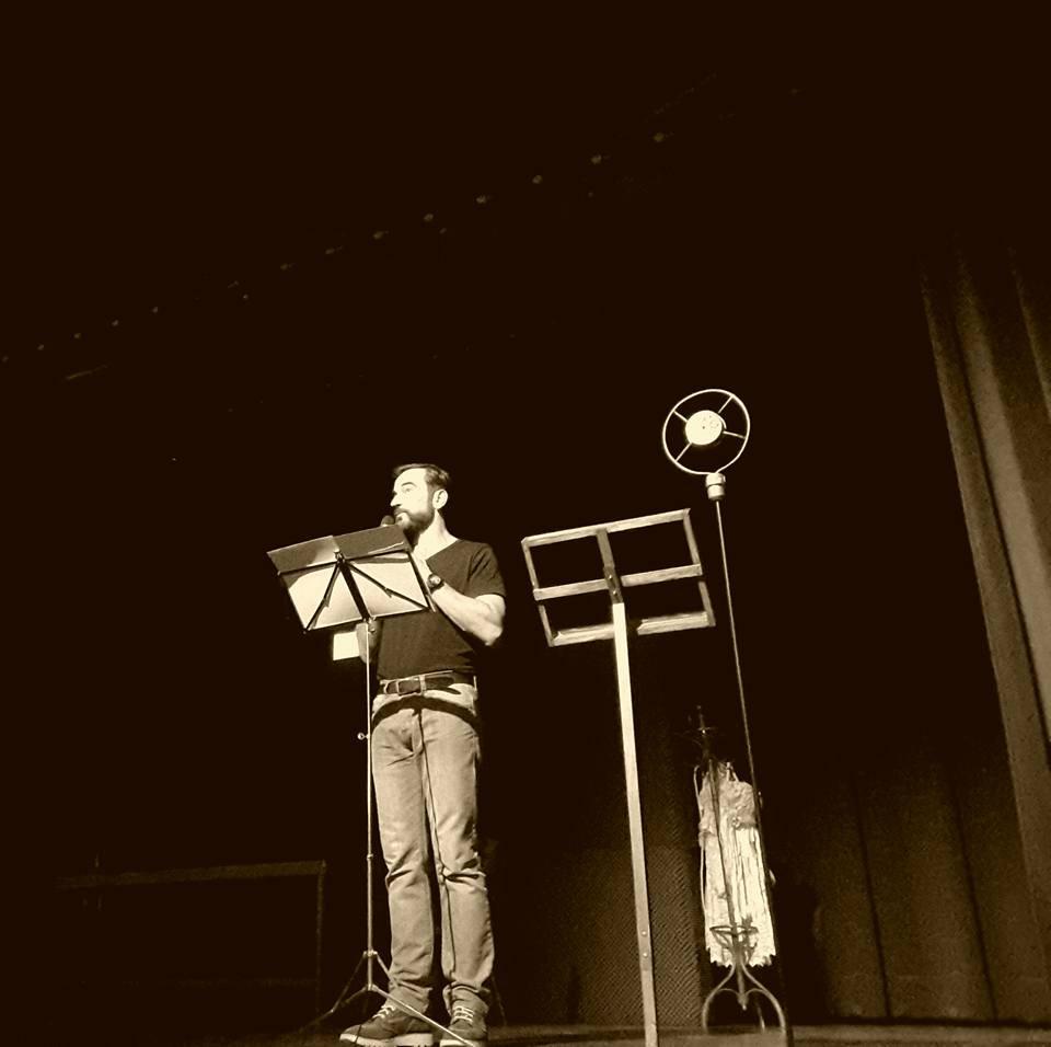 Durante la Gala de presentación del pasado año.