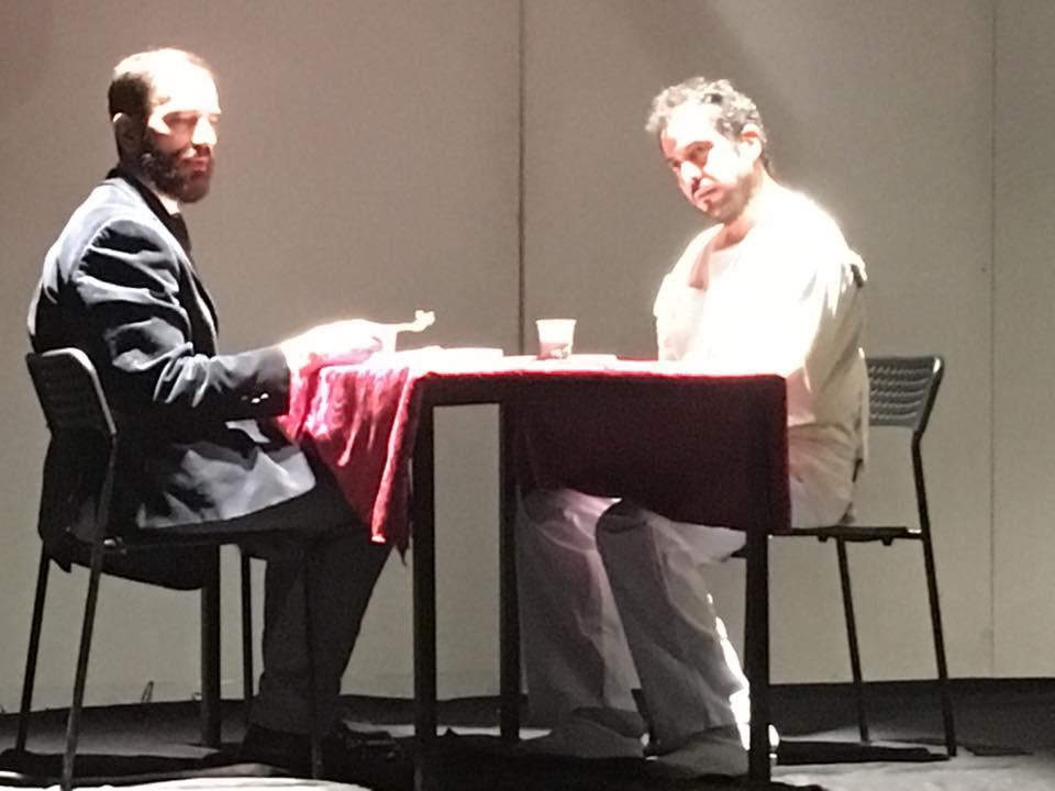 Javier Peña, Actor junto a Carlos Mendoza en un momento del Plano Secuencia.