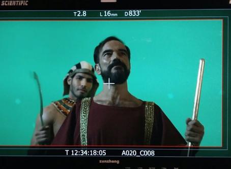 """Javier Peña, Actor participa en un docudrama histórico, """"Perpetua"""", en Latín."""