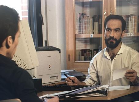 Javier Peña, Actor acaba de terminar su participación en el cortometraje del director Yared Myers, &