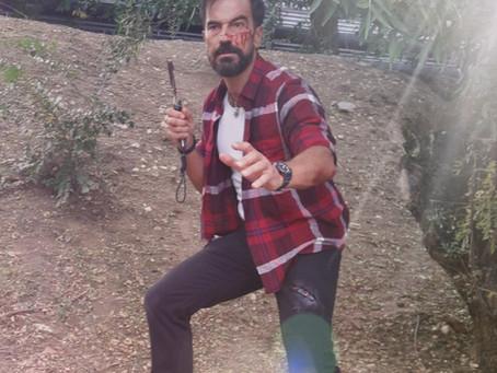 """Javier Peña, Actor inmerso en el ecuador del rodaje de la película postapocalíptica """"Zona Sombr"""