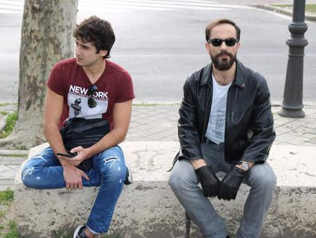 """Javier Peña, Actor en el cortometraje """"Epiciclo""""."""
