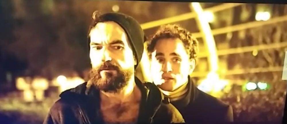 Javier Peña, Actor como Demian y David López como Rober... ¿ficción o realidad?