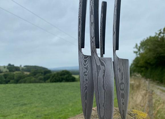 Damascus Steak Knives set of Four