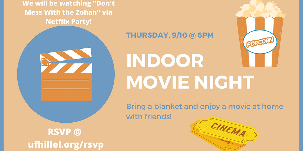 Indoor Movie Night (6-8pm)