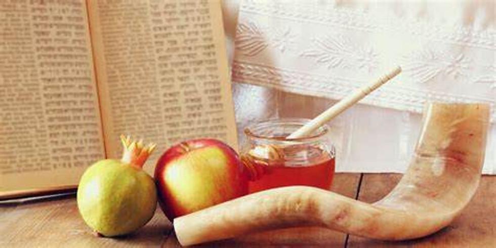 Erev Rosh Hashana SERVICES (7:00 to 8:00pm)