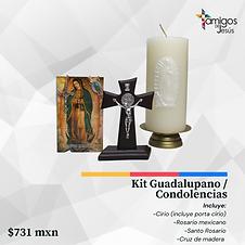Kit Guadalupano de Condolencias