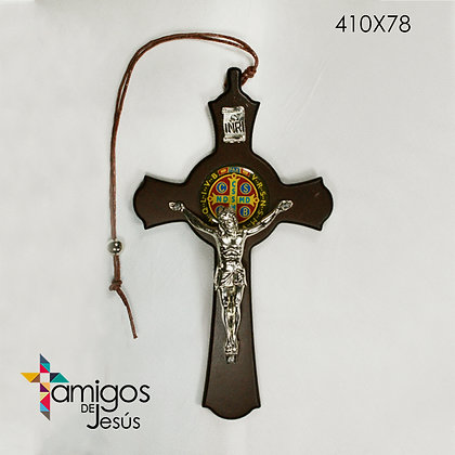 Cruz San Benito bendición