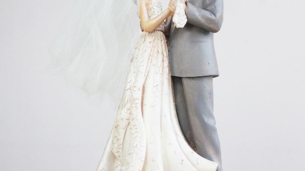 Estatuilla de Pareja de Novios