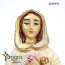 Bulto de Rosa Mística