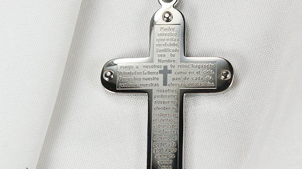Collar Cruz con Oración