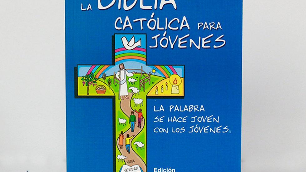 La biblia católica para Jóvenes pasta blanda