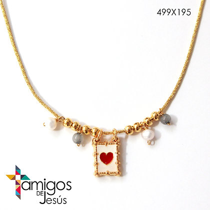 Collar Detente con Perlas