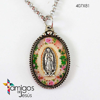 Collar Virgen de Guadalupe