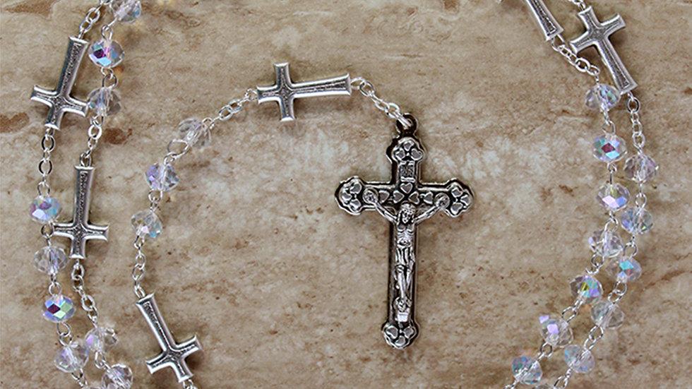 Rosario Cristal Virgen Milagrosa