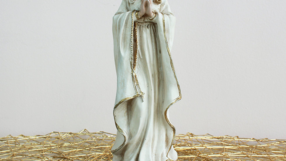 Estatuilla Vírgen Rosa Mística Grande