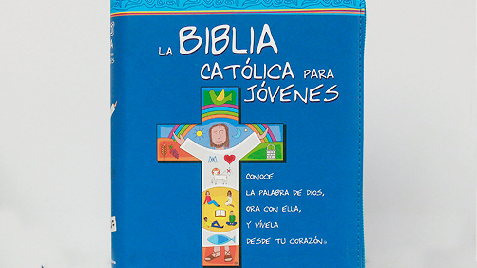 Biblia cátolica para jóvenes con funda