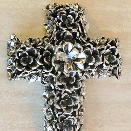 Cruz de Flores en Lámina