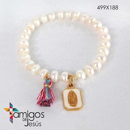 Pulsera de Virgen de Guadalupe