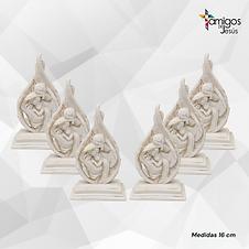 Kit de 6 Sagrada Familia de cerámica
