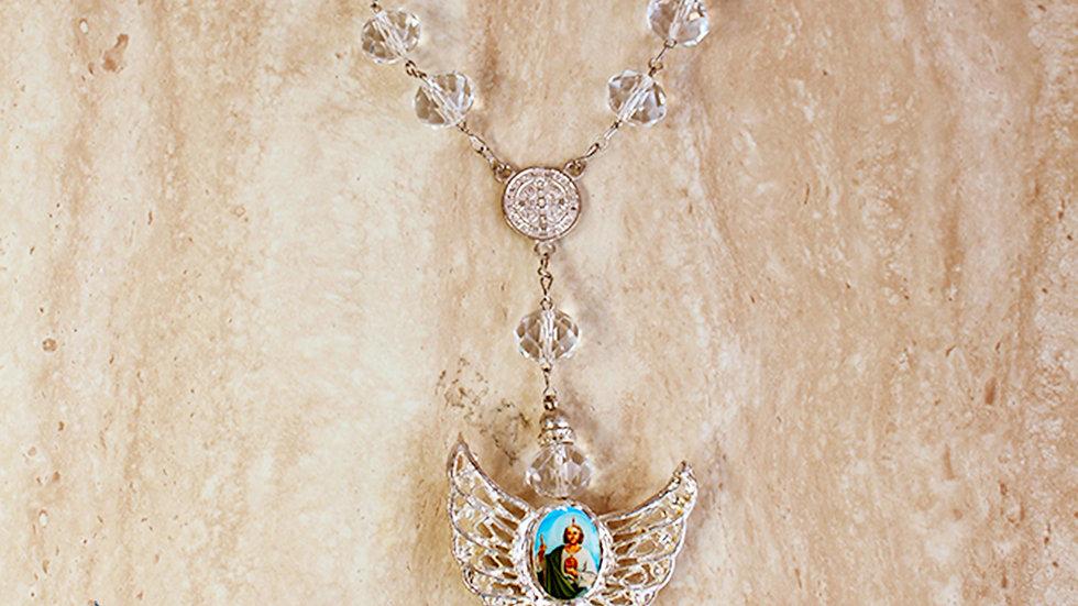 Decenario de San Judas Tadeo de Cristal
