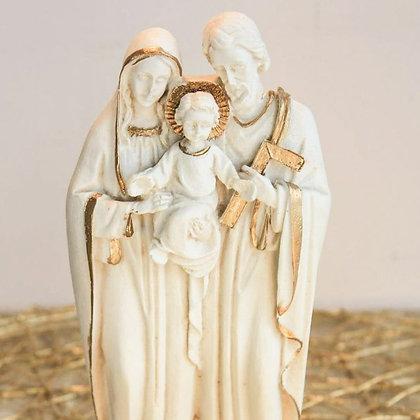Estatuilla de la Sagrada Familia