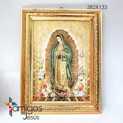 Cuadro apariciones Virgen de Guadalupe