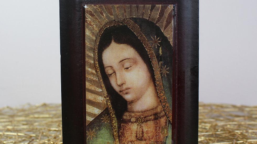 Retablo Rostro Tradicional Virgen de Guadalupe