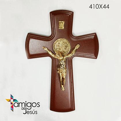 Cruz San Benito dorada