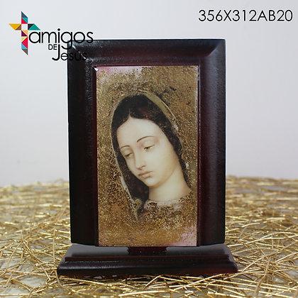 Retablo Rostro Virgen de Guadalupe