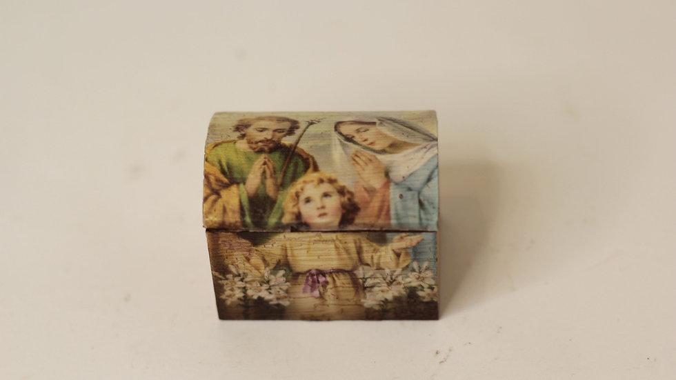 Mini Baúl Sagrada Familia