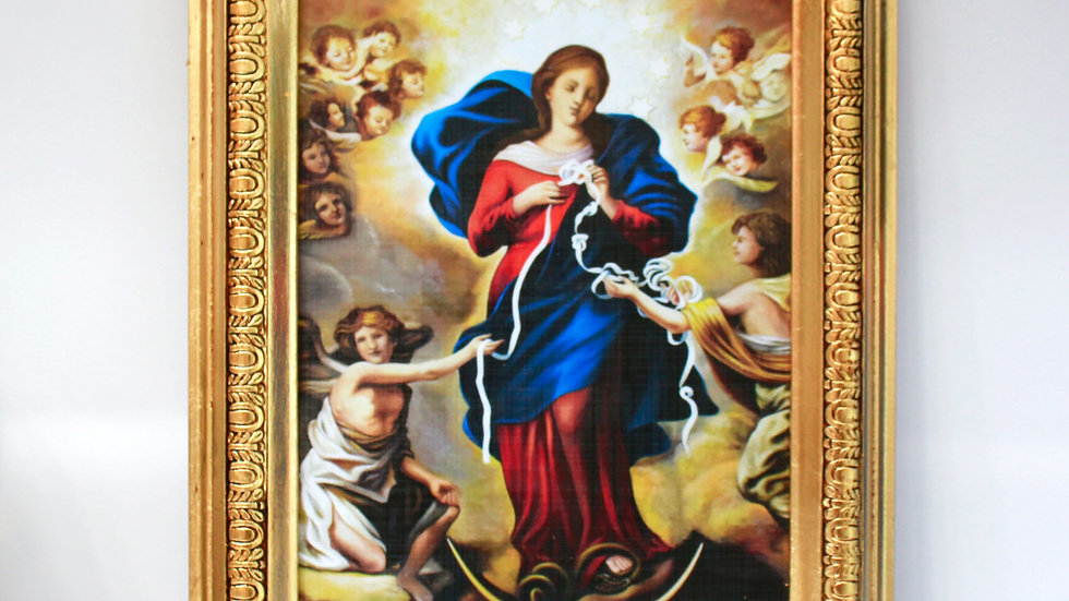 Cuadro Virgen Desatanudos