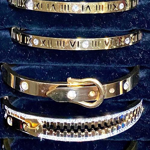 Bar bracelets