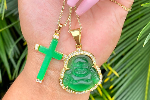 Green Buddha and Cross Sold separate