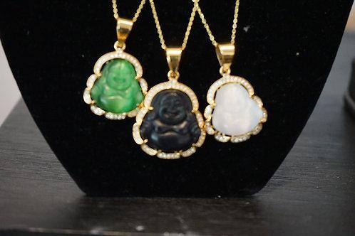 Buddha Head necklace