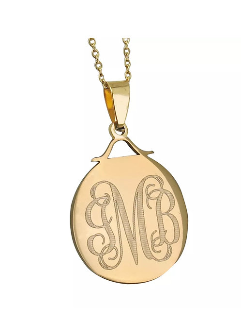 OVAL INITIAL CHAIN
