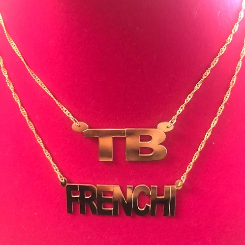 Bold name Chain