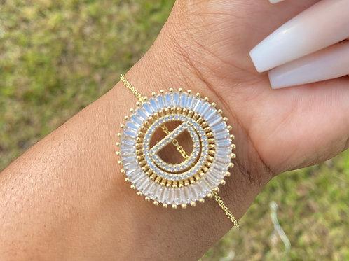 Bold Initial Bracelet